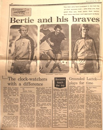 Bertie and his braves