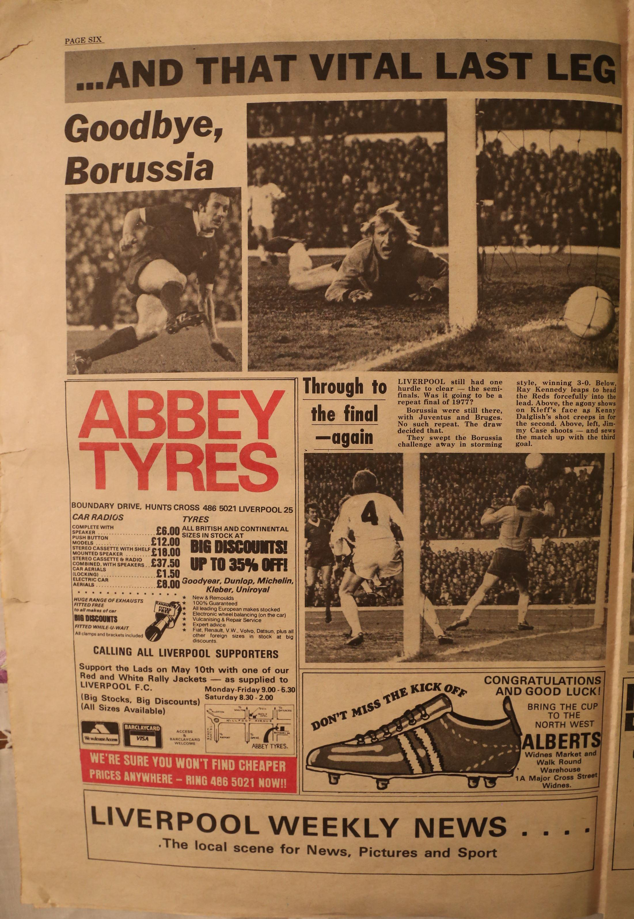Goodbye Borussia! - April 1978