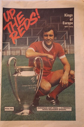Up the Reds! - Cover of Liverpool Echo special May 1978