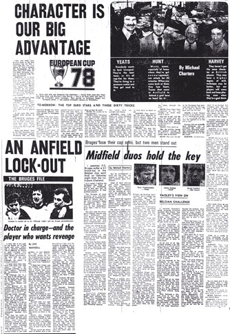 Roger Hunt, Ron Yeats and Colin Harvey's expert opinion