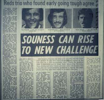 Souness can rise to new challenge - January 1978