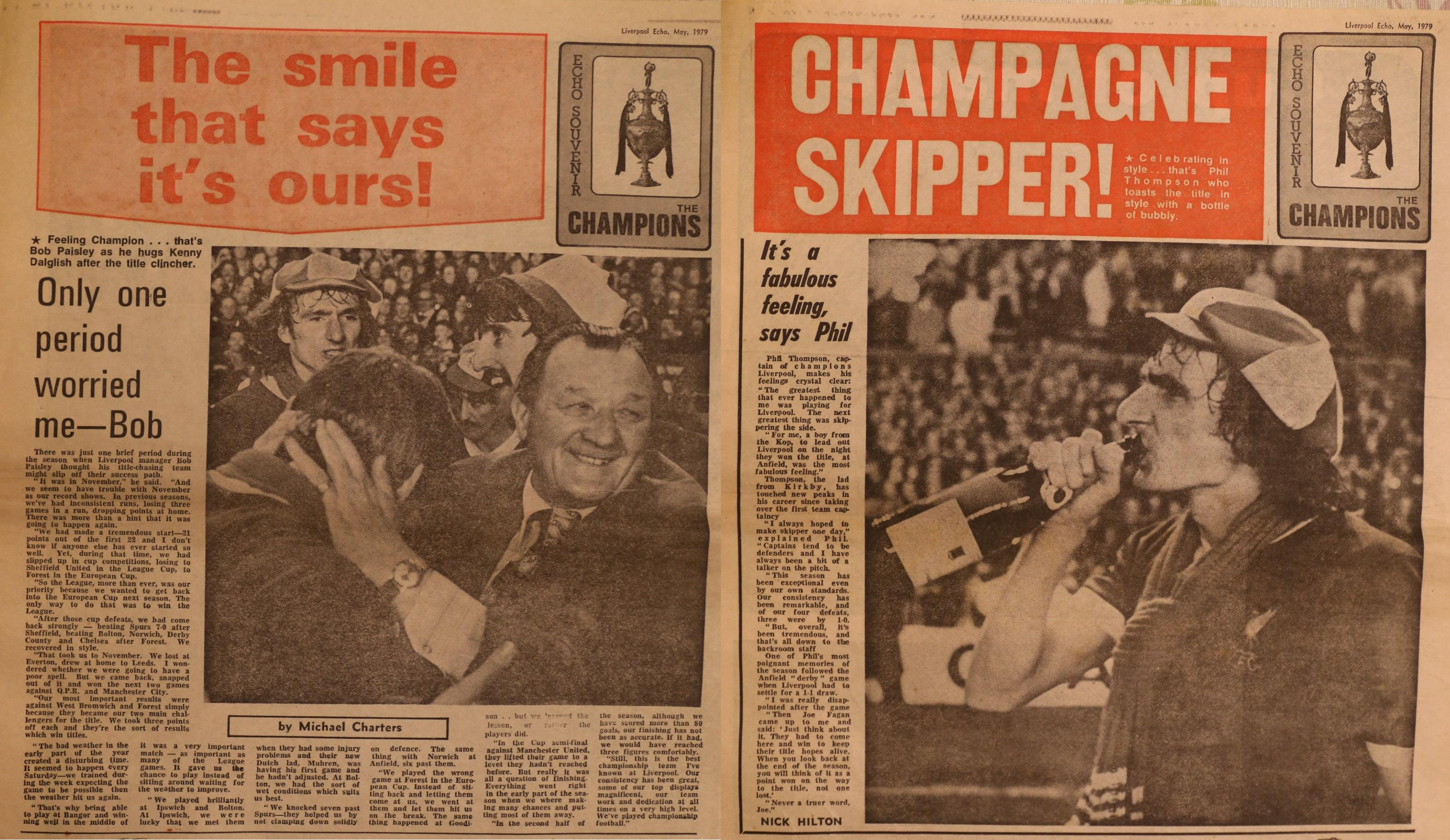 Champagne skipper! - 8 May 1979