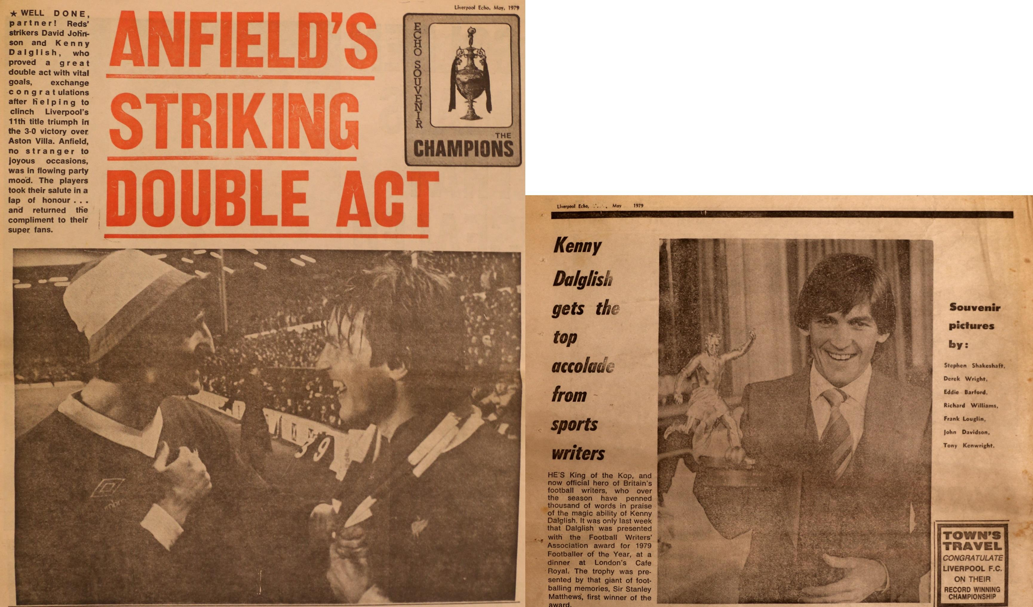 Anfield's striking double act - 8 May 1979