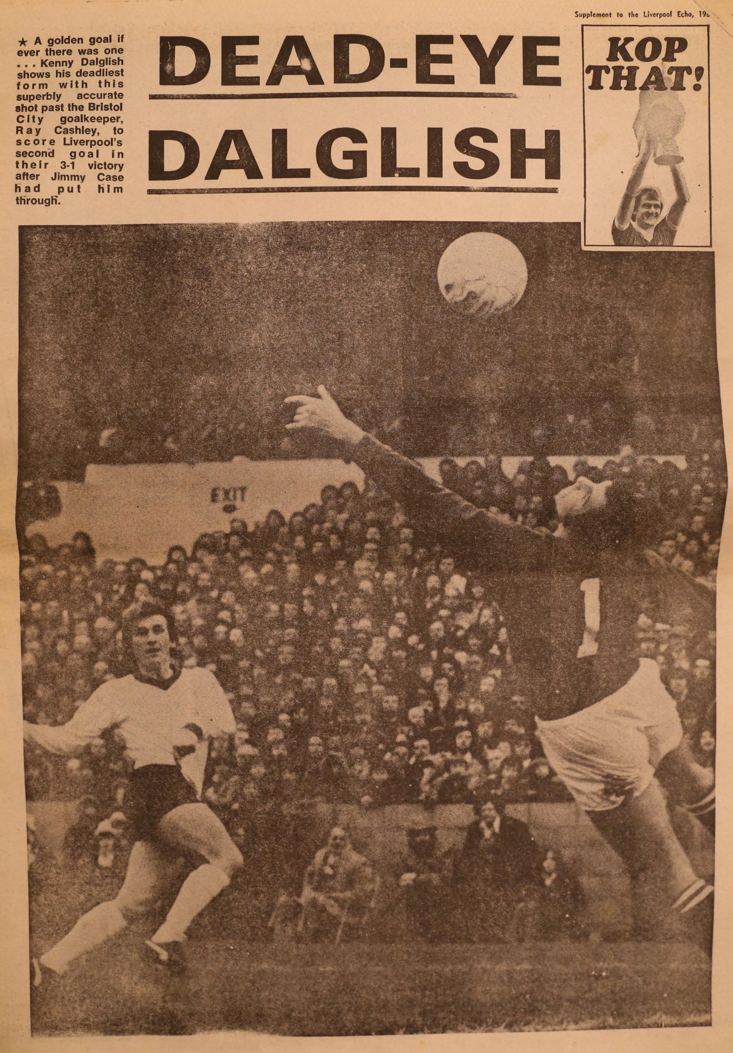 Dead Eye Dalglish - 15 March 1980