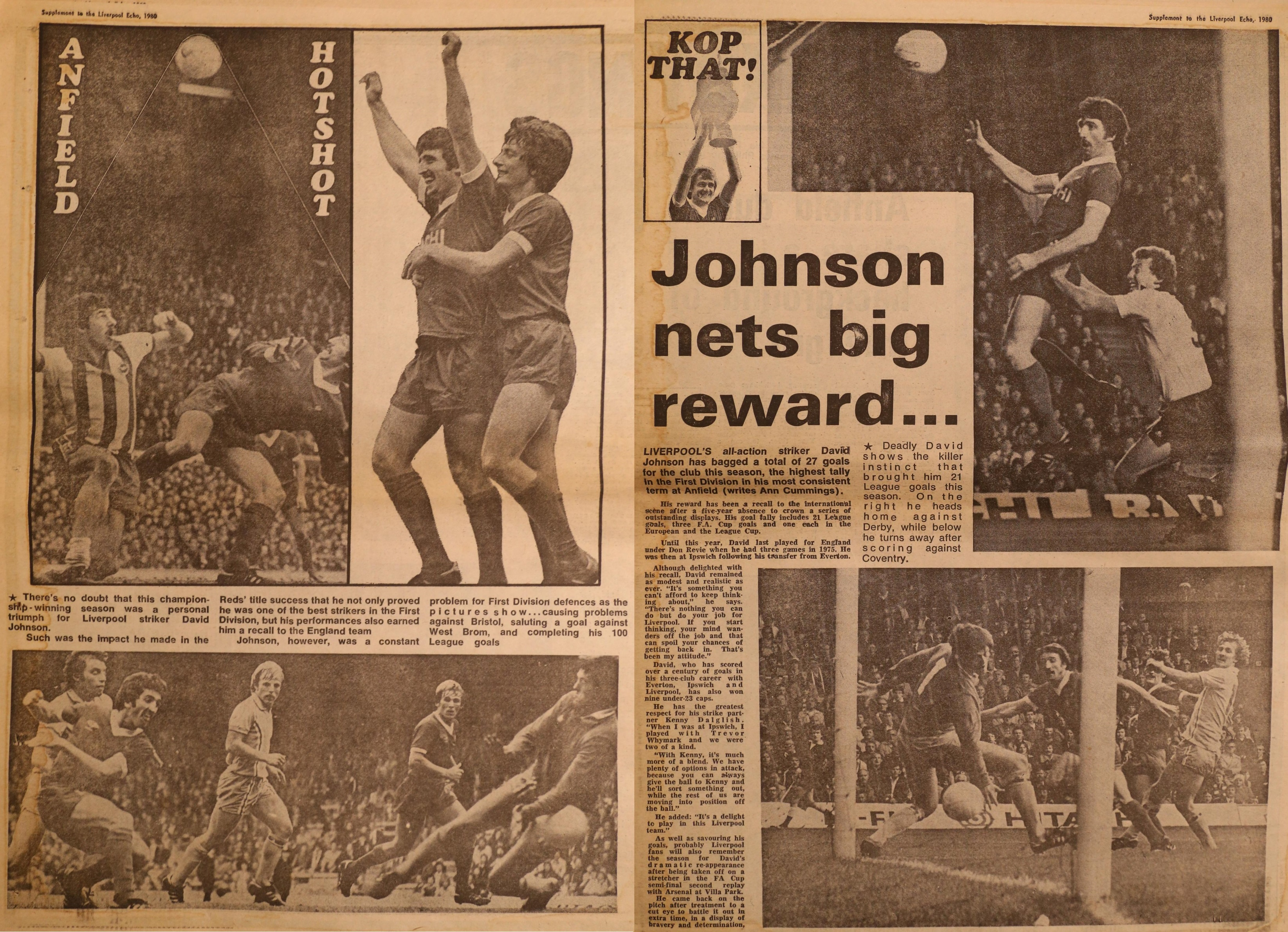 Johnson's best season - from May 1980
