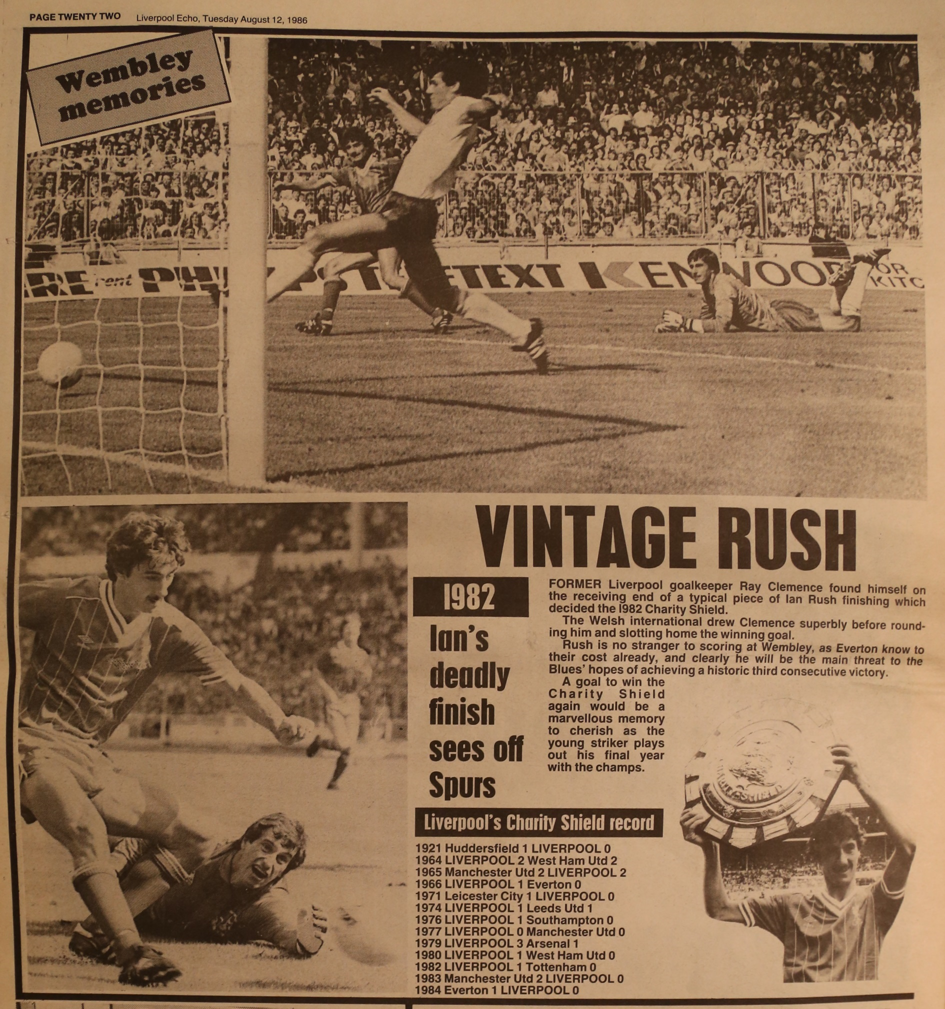 Vintage Rush - 13 March 1982