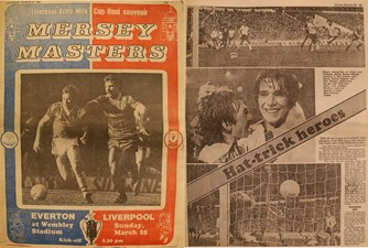 Hat-trick Milk Cup heroes! - 25 March 1984