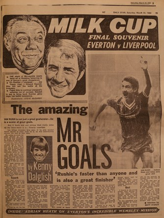 The Amazing Mr. Goals, by Kenny Dalglish