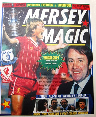 Cover of Mirror Sport special for the 1986 FA Cup final