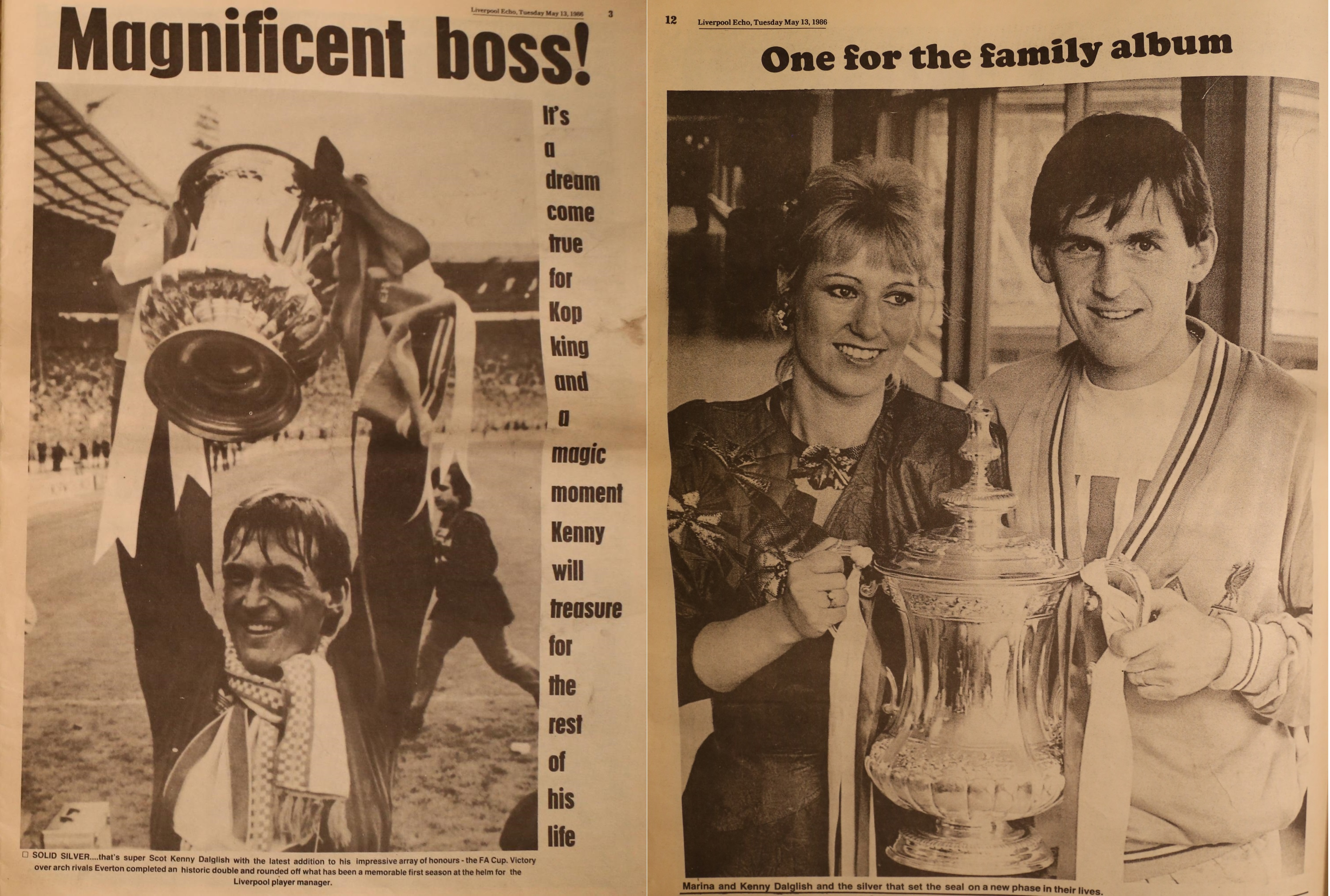 One for the family album - Liverpool Echo 13 May 1986