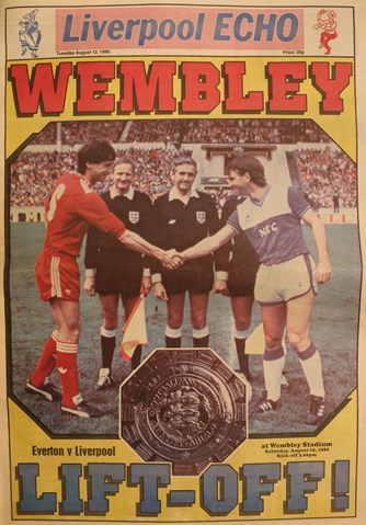Cover of Liverpool Echo souvenir - 16 August 1986
