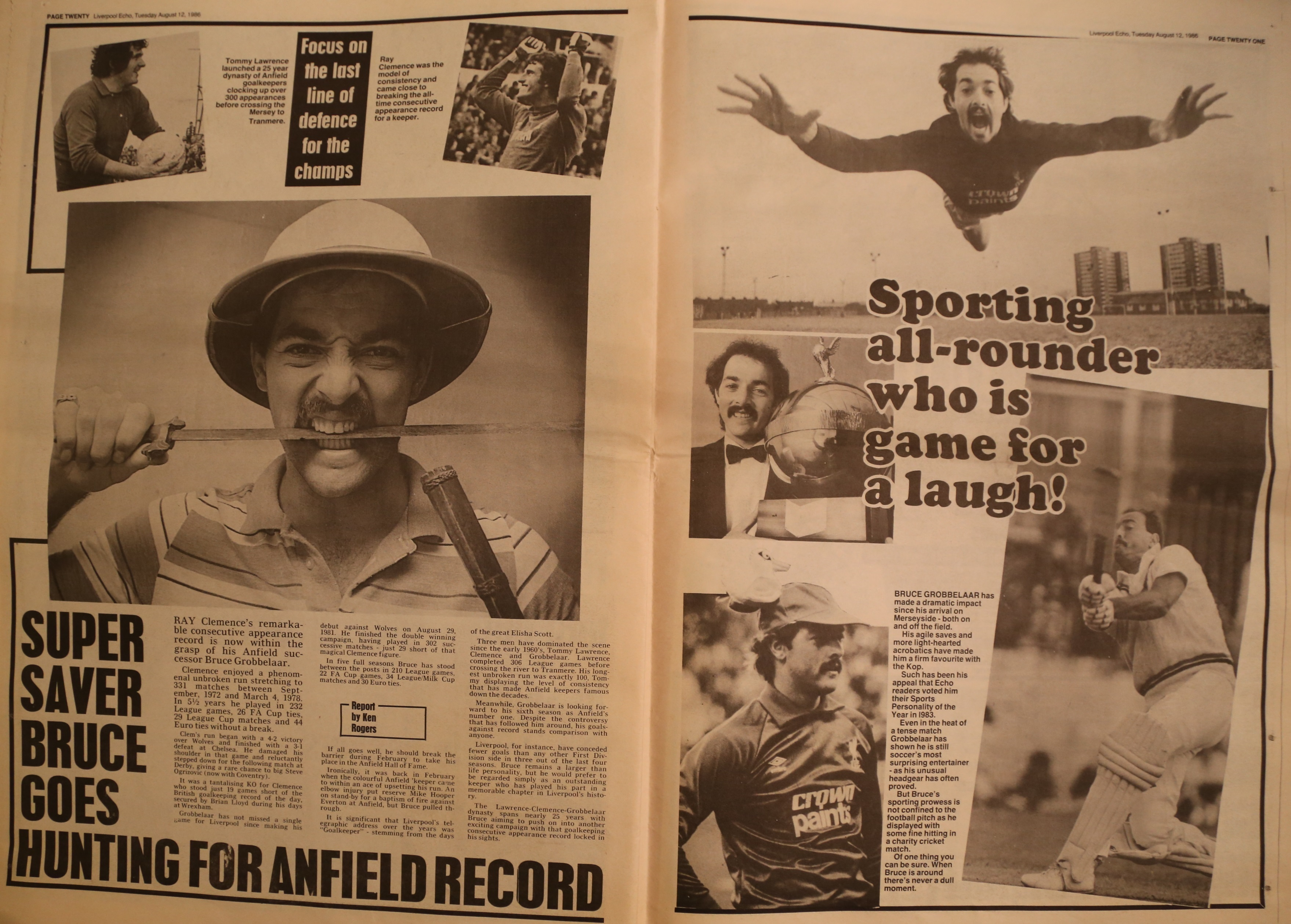 Sporting all-rounder who is game for a laugh - 12 August 1986
