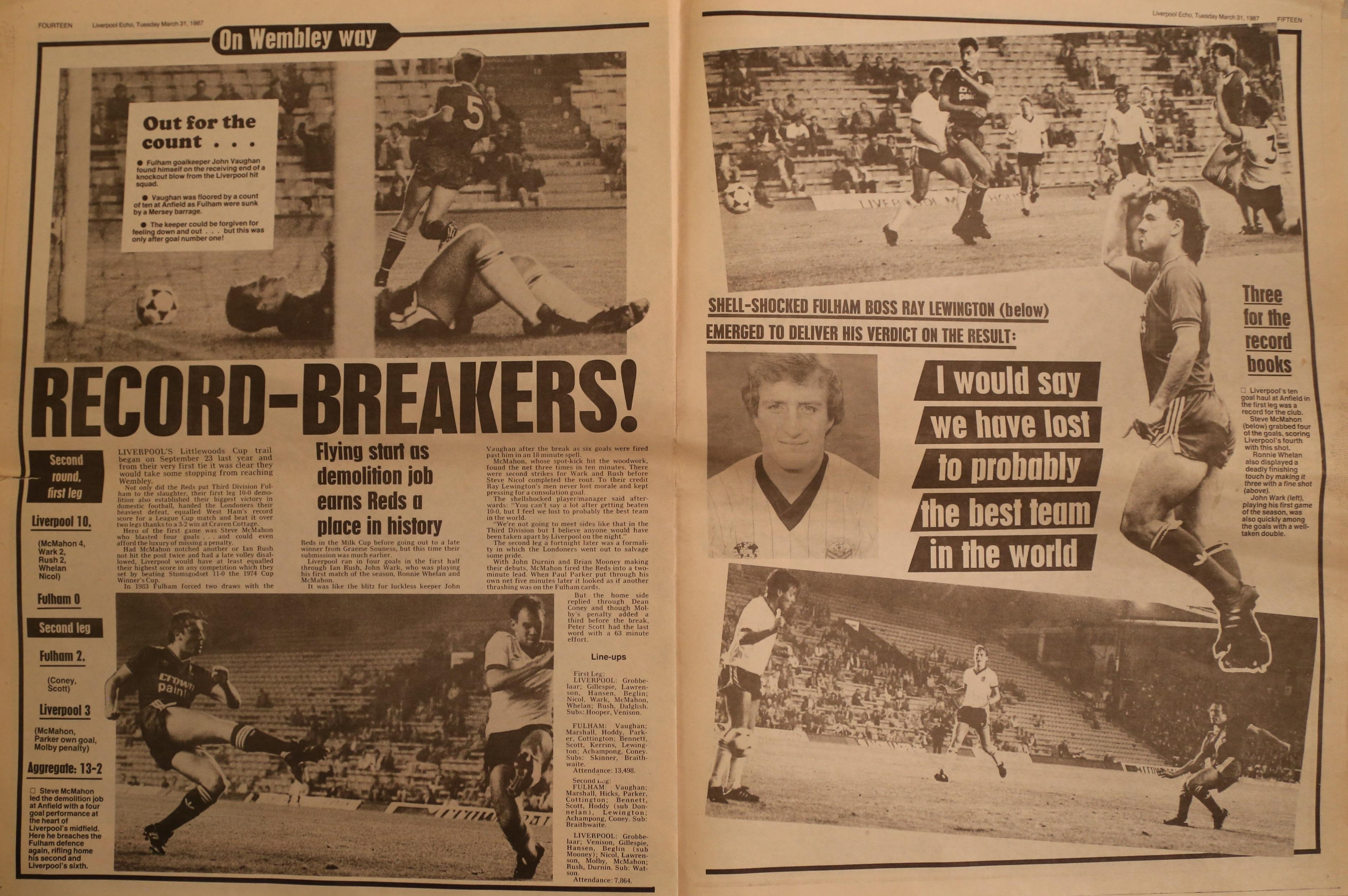 Record-breakers - 23 September 1986