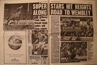 Superstars hit heights on road to Wembley - 16 May 1989
