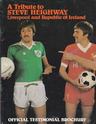 The cover of Heighway's testimonial brochure