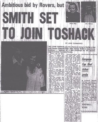 Tommy Smith departs for Swansea