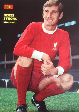 Poster of Geoff Strong - Goal magazine 1969