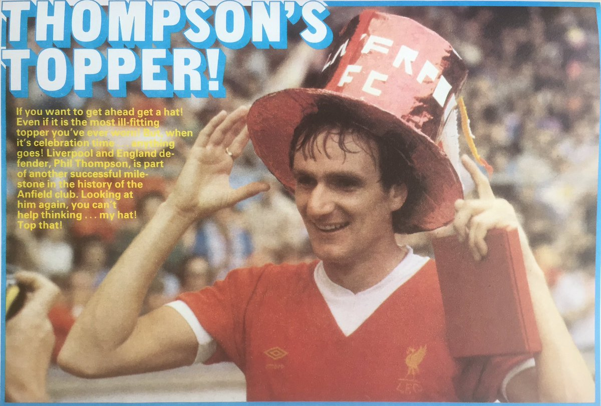 Thompson's topper!