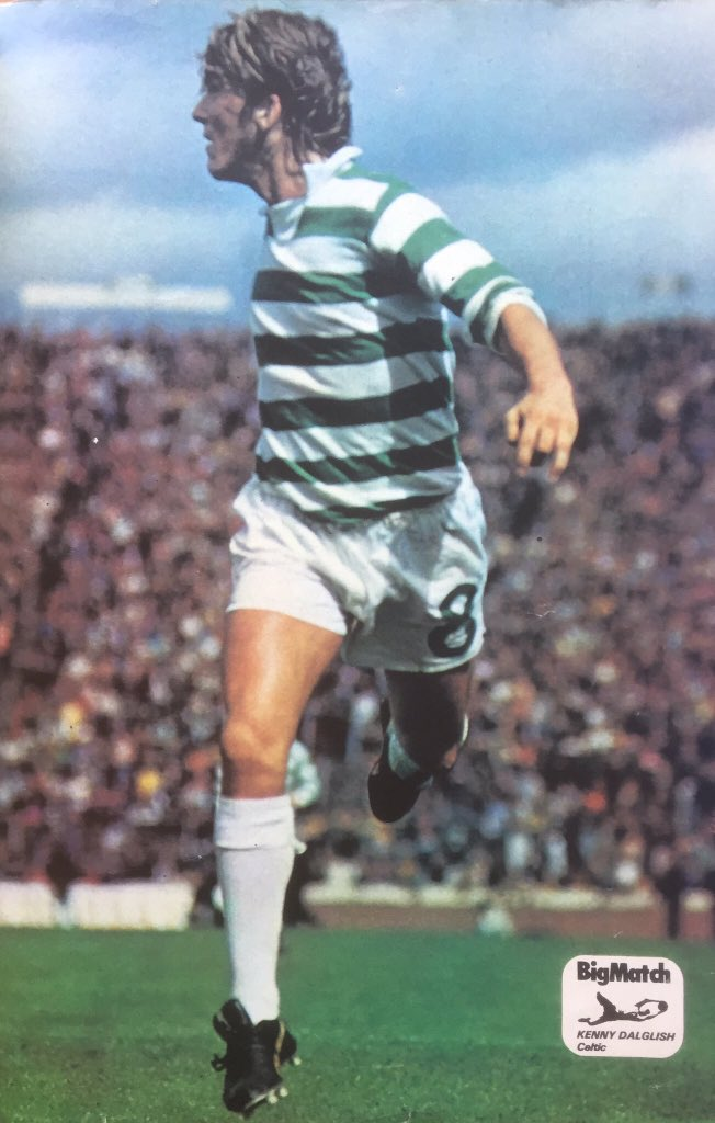 Dalglish in Celtic colours