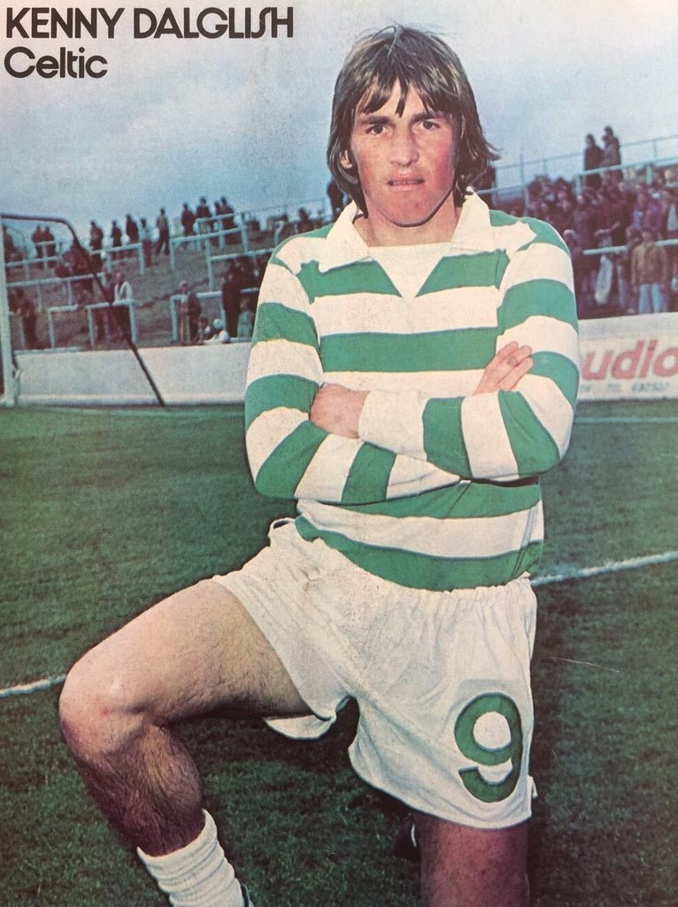 Dalglish Celtic poster