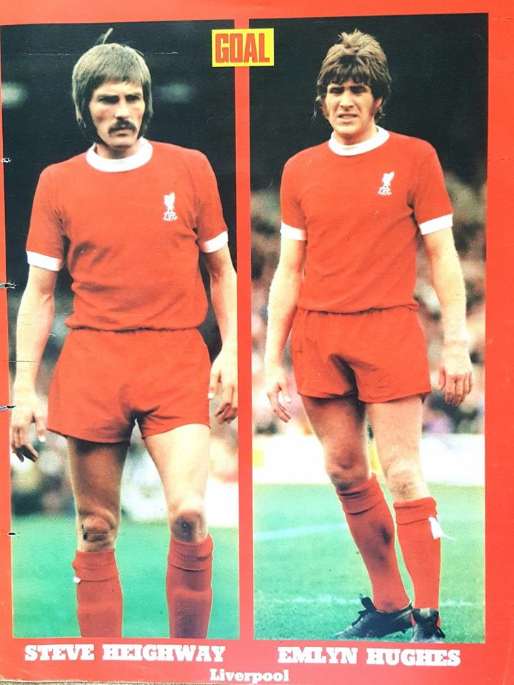 Emlyn Hughes and Heighway Goal poster