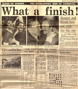What a finish! - 25 May 1977