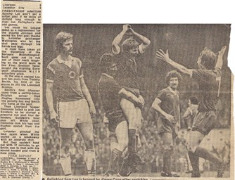 Lee stars on his league debut - 8 April 1978
