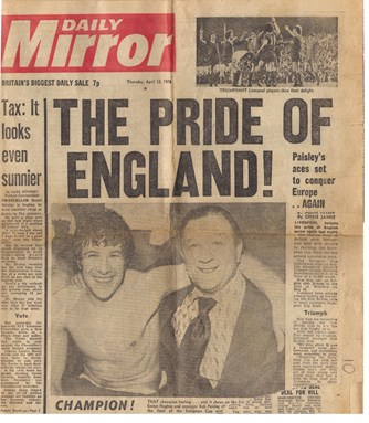 The pride of England - 13 April 1978