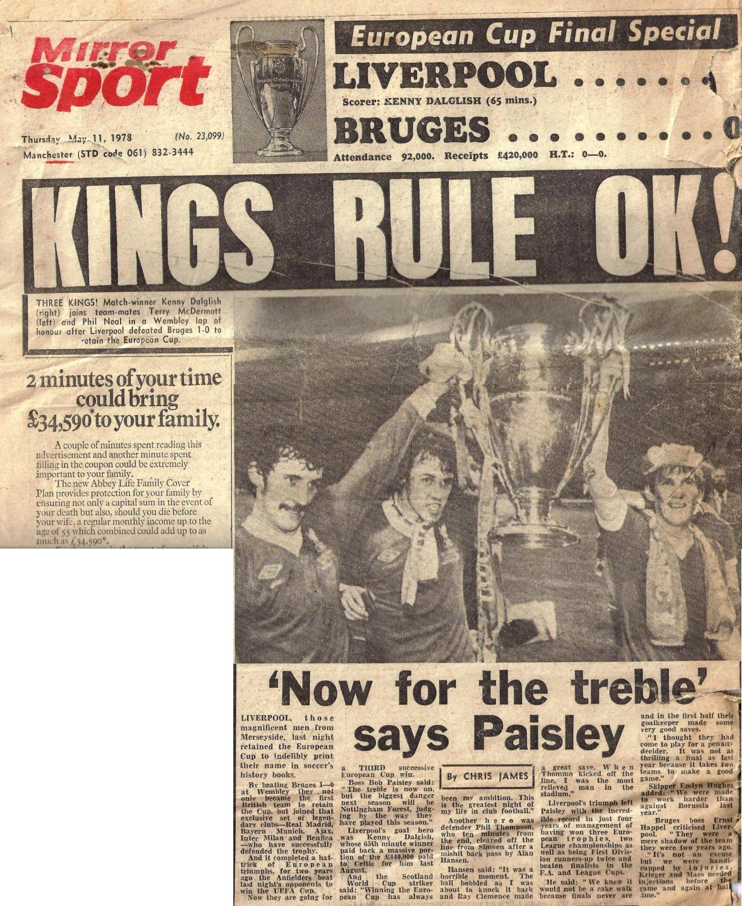 Kings rule! - 10 May 1978