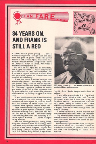 84 years on - a Liverpool fan remembers