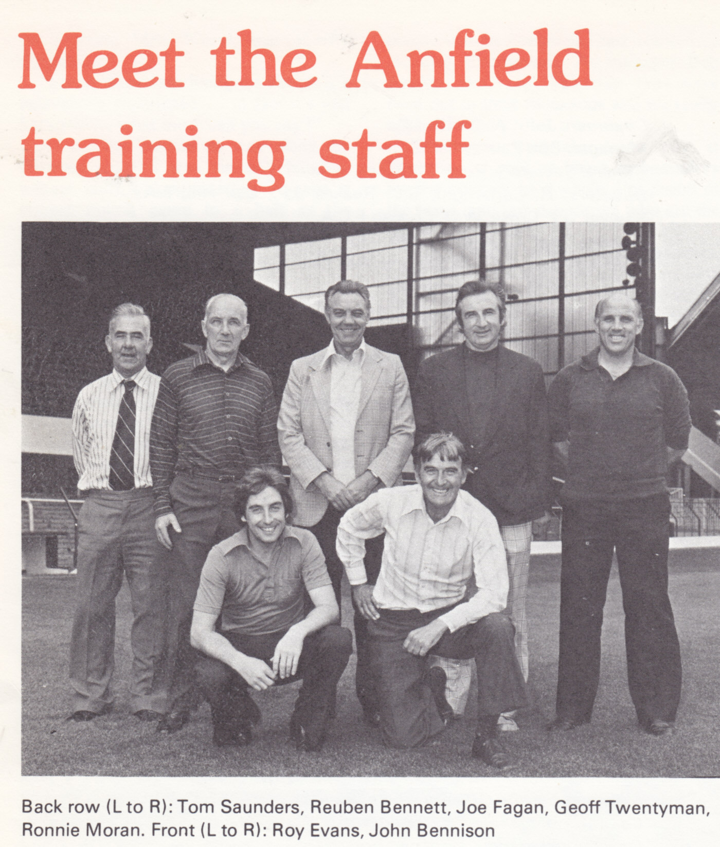 Meet the training staff - 30 December 1979
