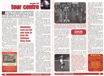 Liverpool's Crazy Gang - Stephen Done's column in the Liverpool match programme