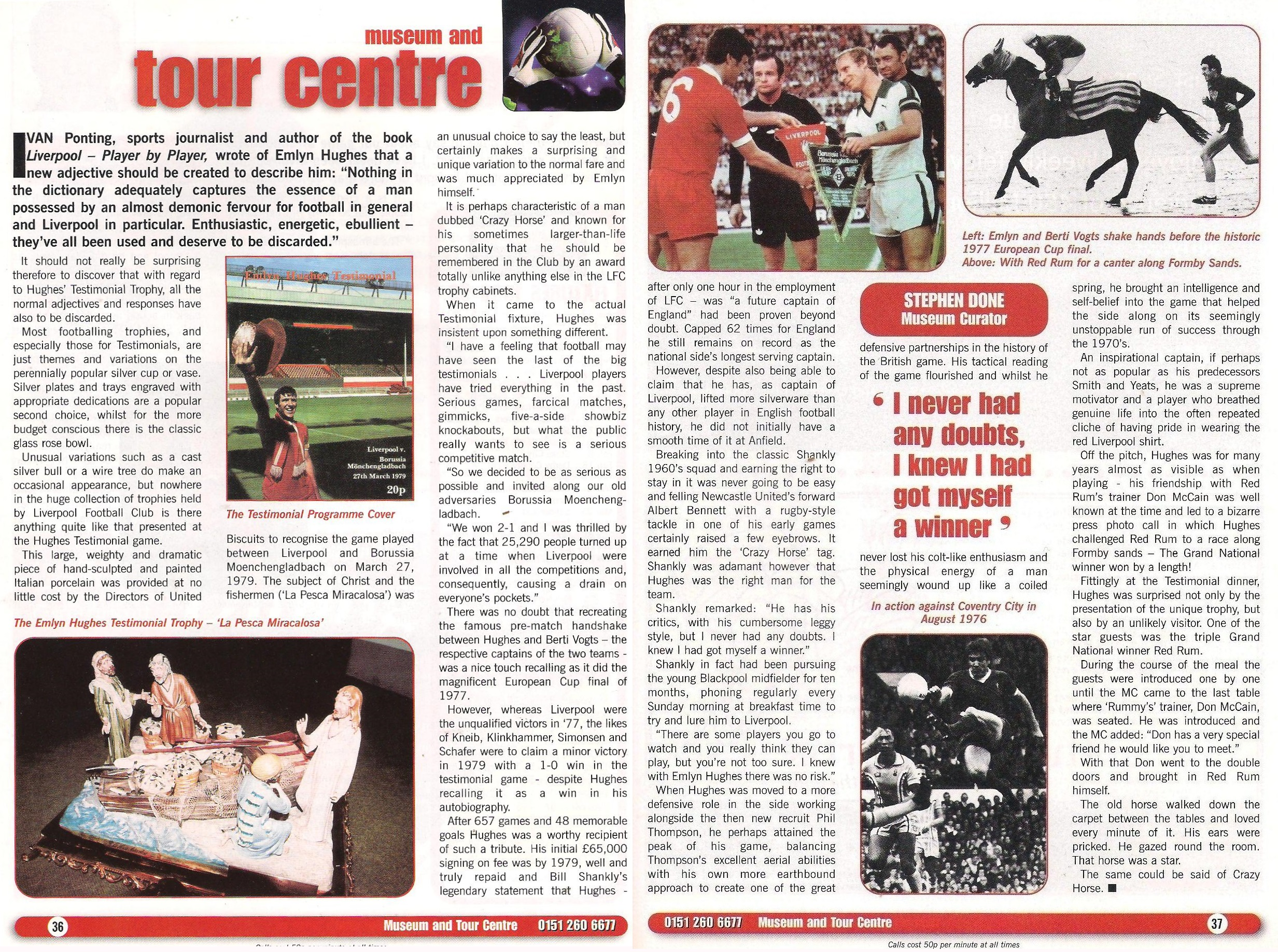 Stephen Done's column in Liverpool's match programme
