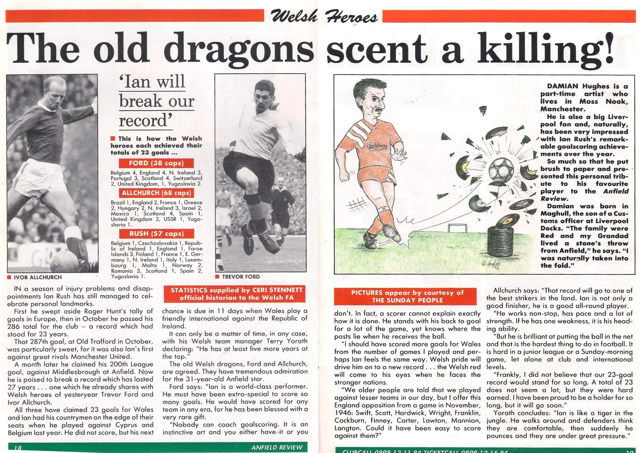 The Welsh dragons scent a killing