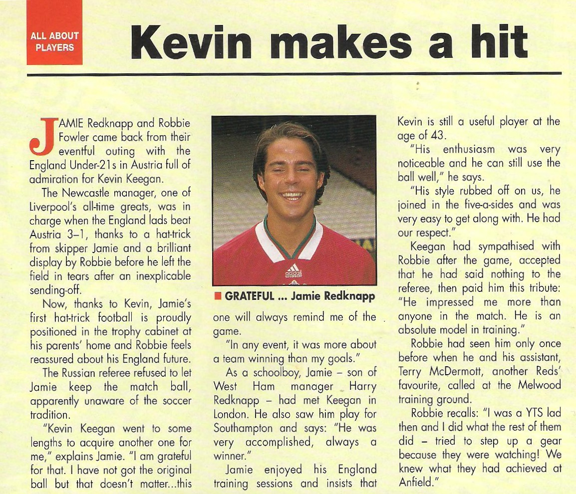 Kevin makes a hit! - 1994