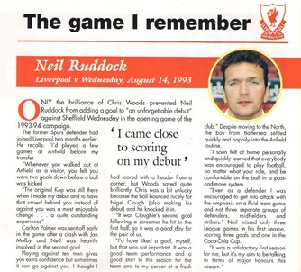 The game I remember - 14 August 1993