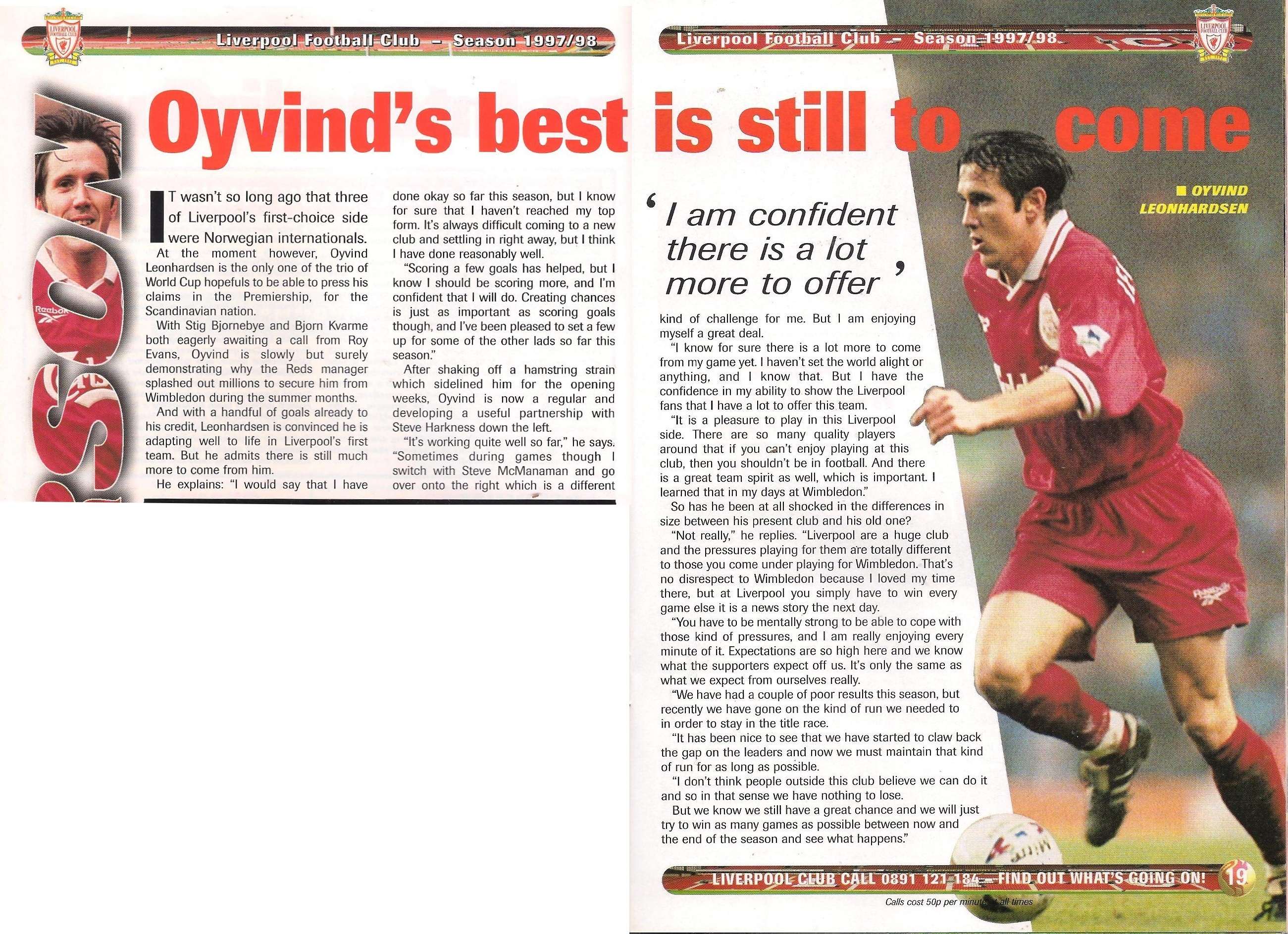 Oyvind's best is still yet to come!