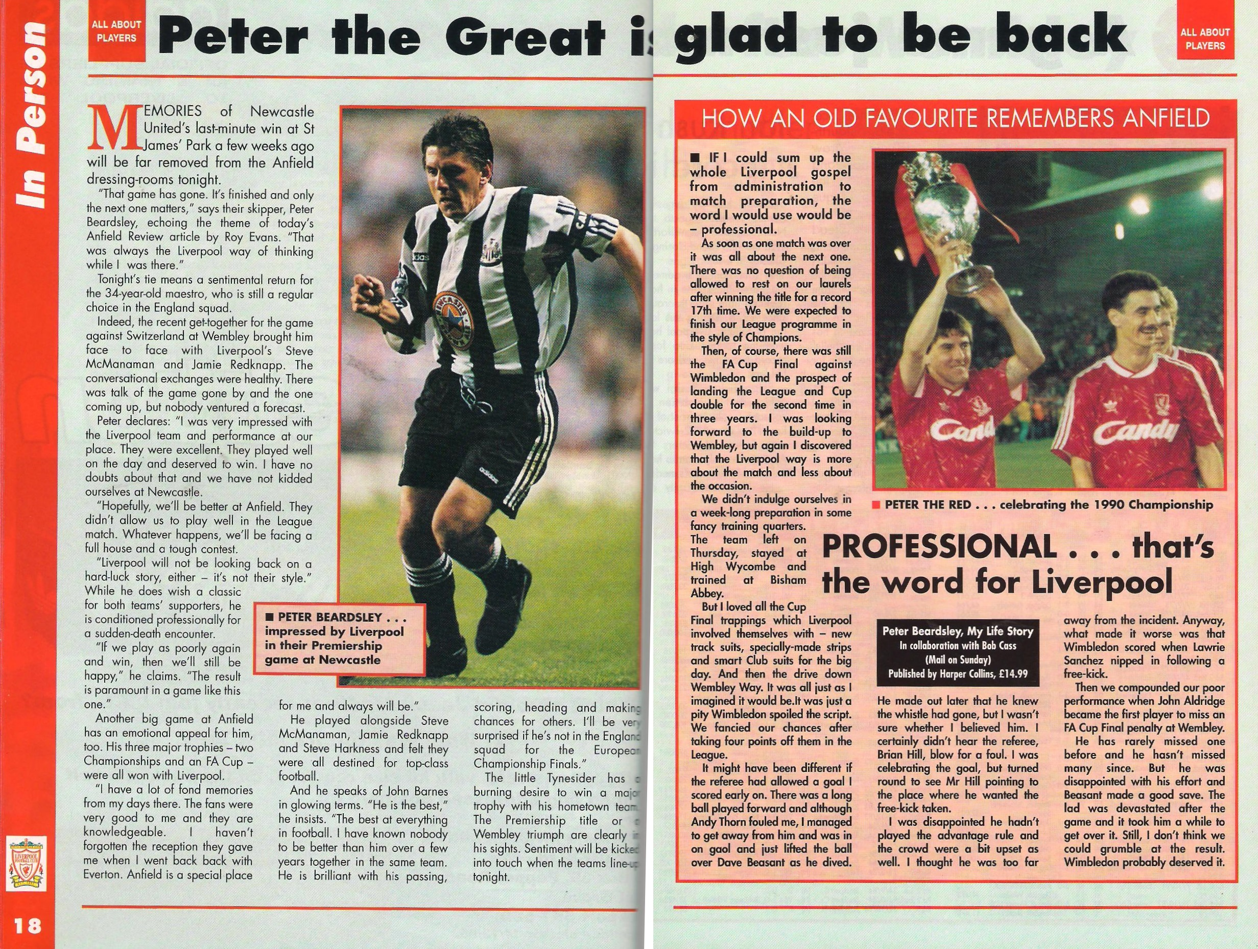 Peter the great glad to be back - 1995