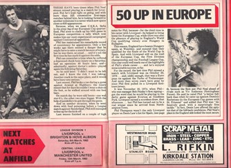 50 up in Europe! - 3 March 1982
