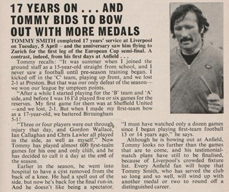 Tommy bids to bow out with more medals - 1977