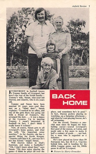 Back at home - 1974