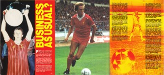 Business as usual, says new Liverpool skipper - 1984