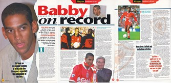 LFC Magazine interview with Phil Babb after the 1994/95 season