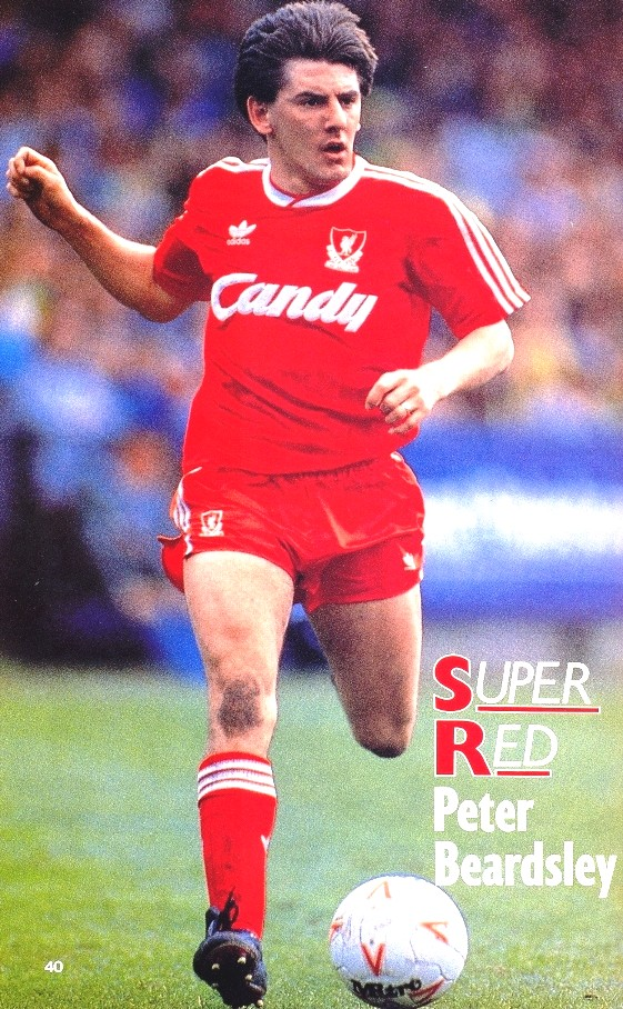 Liverpool career stats for Peter Beardsley - LFChistory