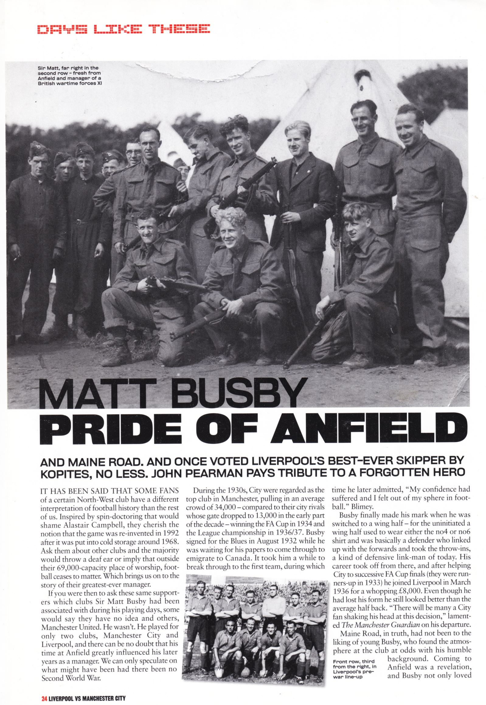 Pride of Anfield - LFC Official Matchday Magazine