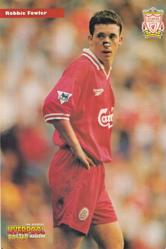 Official Liverpool Poster Magazine - Robbie Fowler