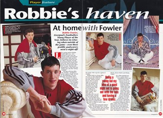 Robbie's haven at home - 1994