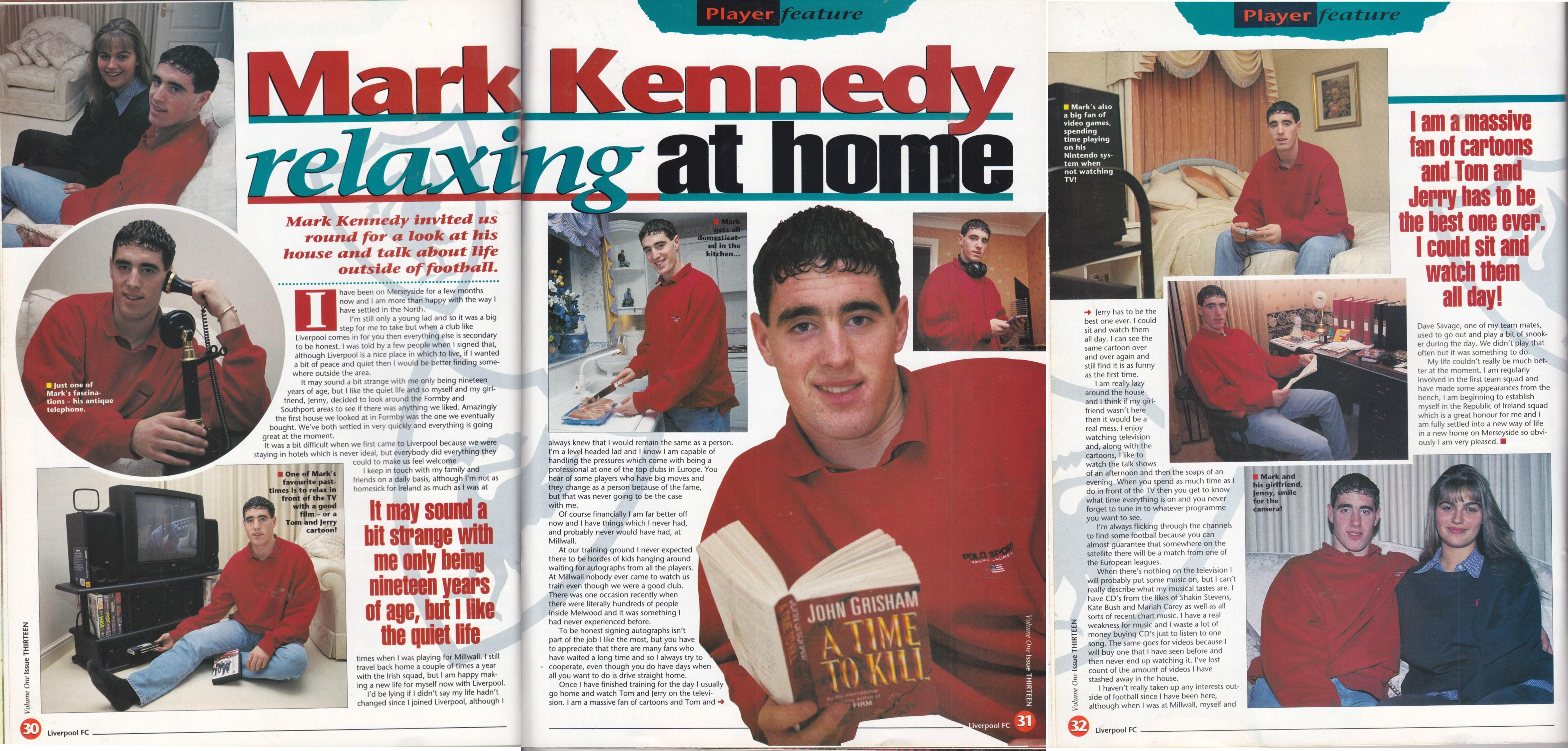 LFC Magazine interview from 1995/96