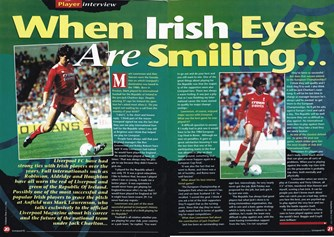 When Irish eyes are smiling - LFC Club magazine