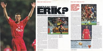 Matchday Magazine interview with ErikMeijer
